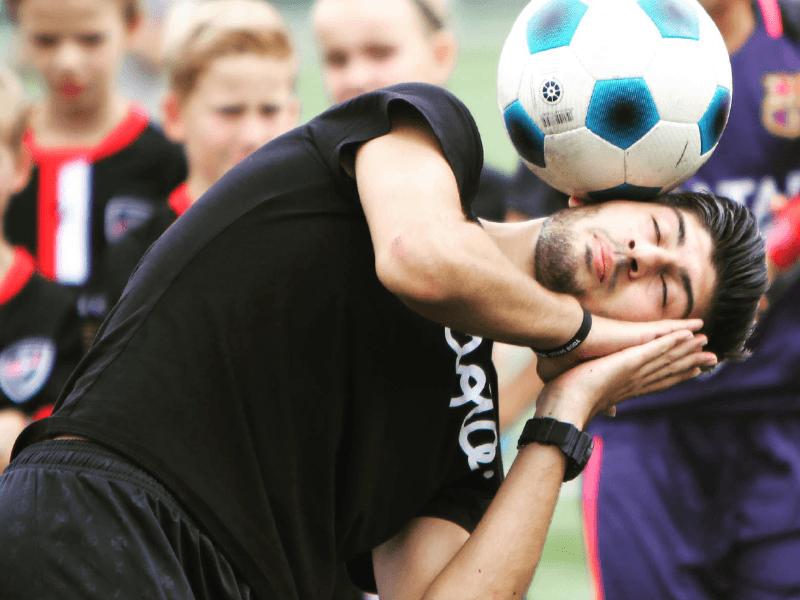 De voetbalkunstenaars van Pelota
