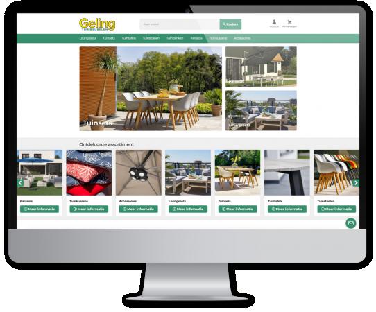 Webshop Geling tuinmeubelen