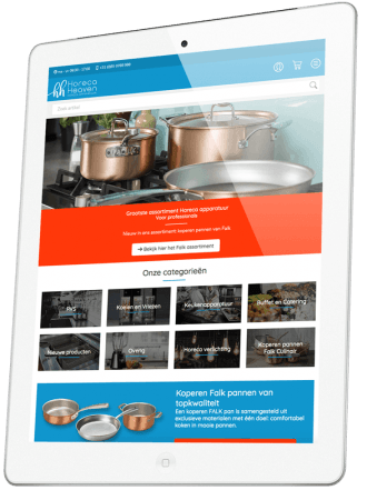 Horeca Heaven iPad
