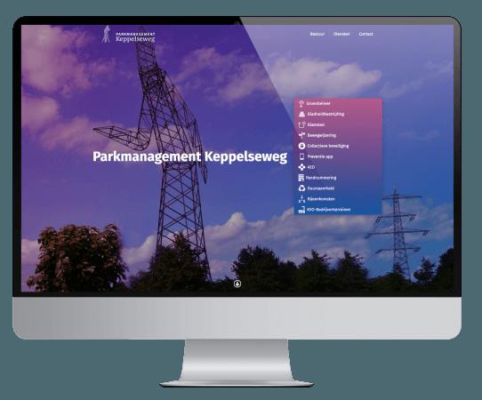 Parkmanagement Keppelseweg website