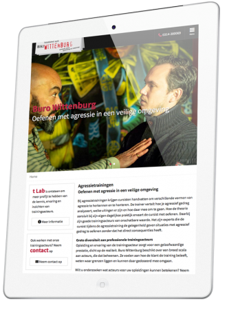 Buro Wittenburg op iPad